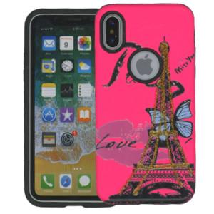 Iphone X/10/XS  MM 3D Paris Butterfly