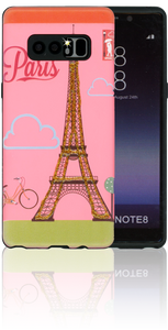 Samsung Galaxy Note 8 MM 3D Glitter Paris
