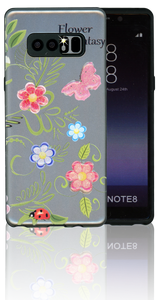 Samsung Galaxy Note 8 MM 3D Flower Butterfly