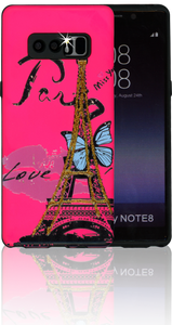 Samsung Galaxy Note 8 MM 3D Paris Butterfly