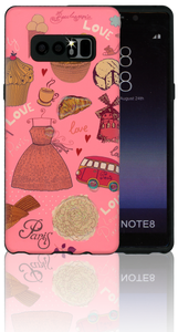 Samsung Galaxy Note 8 MM 3D Shopaholic