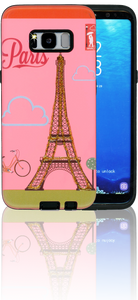 Samsung Galaxy S8 MM 3D Glitter Paris