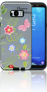 Samsung Galaxy S8 MM 3D Flower Butterfly