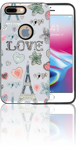 Samsung Galaxy S8 MM 3D Paris Hearts