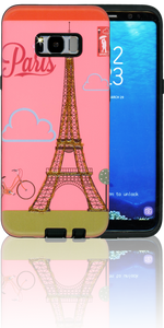Samsung Galaxy S8 PLUS MM 3D Glitter Paris