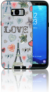 Samsung Galaxy S8 PLUS MM 3D Paris Hearts