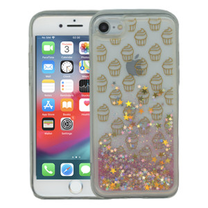 Iphone 7/8 MM Water Glitter Cup Cake