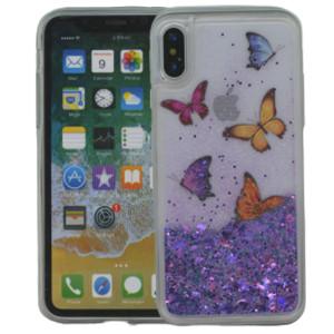 Iphone X/10/XS  MM Water Glitter Butterfly