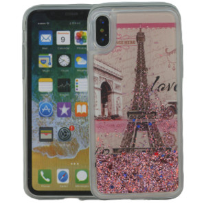 Iphone X/10/XS MM Water Glitter Paris
