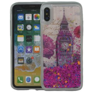 Iphone X/10/XS MM Water Glitter London