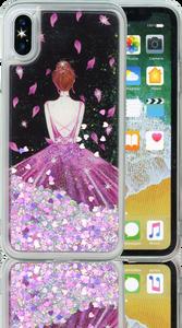 Iphone X/10/XS  MM Water Glitter Princess