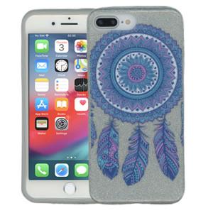 Iphone 7 PLUS/8 PLUS  MM Feathers Glitter Hybrid