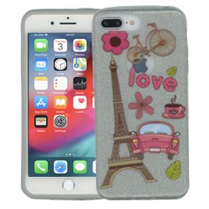 Iphone 7 PLUS/8 PLUS  MM Paris Glitter Hybrid