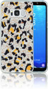 Samsung Galaxy S8  MM Cheetah Glitter Hybrid