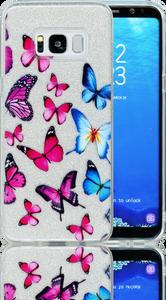 Samsung Galaxy S8  MM Butterfly Glitter Hybrid