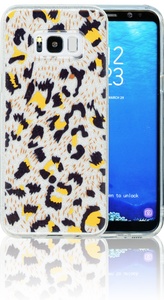 Samsung Galaxy S8 PLUS  MM Cheetah Glitter Hybrid
