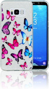 Samsung Galaxy S8 PLUS  MM Butterfly Glitter Hybrid