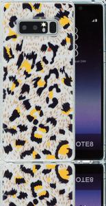 Samsung Galaxy Note 8  MM Cheetah Glitter Hybrid