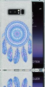 Samsung Galaxy Note 8  MM Feathers Glitter Hybrid