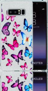 Samsung Galaxy Note 8  MM Butterfly Glitter Hybrid