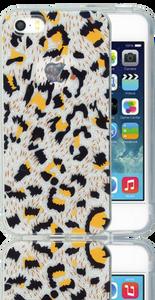 Iphone 5/5S/SE  MM Cheetah Glitter Hybrid