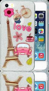 Iphone 5/5S/SE  MM Paris Glitter Hybrid