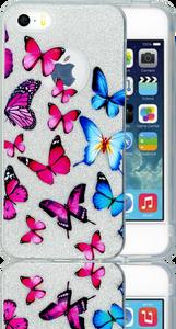 Iphone 5/5S/SE  MM Butterfly Glitter Hybrid