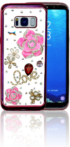 Samsung Galaxy S8  MM Bling 3D Love