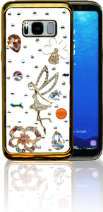 Samsung Galaxy S8  MM Bling 3D Tinker