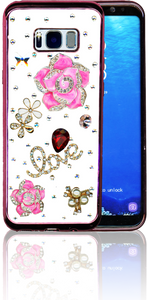 Samsung Galaxy S8 PLUS  MM Bling 3D Love