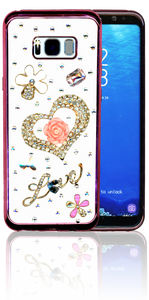 Samsung Galaxy S8 PLUS  MM Bling 3D Heart