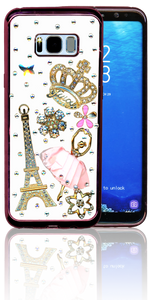 Samsung Galaxy S8 PLUS  MM Bling 3D Paris