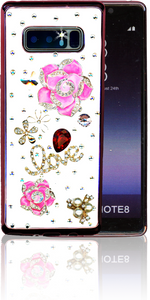 Samsung Galaxy Note 8  MM Bling 3D Love