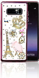 Samsung Galaxy Note 8  MM Bling 3D Paris