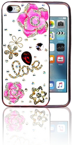 Iphone 5/5S  MM Bling 3D Love
