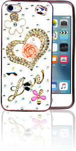 Iphone 5/5S  MM Bling 3D Heart