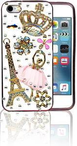 Iphone 5/5S  MM Bling 3D Paris