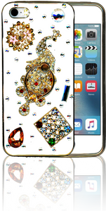 Iphone 5/5S  MM Bling 3D Peacock