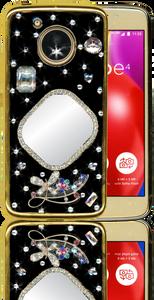 Motorola E4  MM Bling 3D Mirror