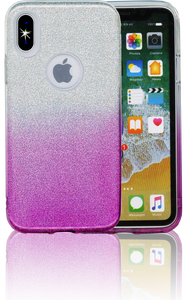 Iphone X/10/XS MM Glitter Hybrid (Two Tone) Purple