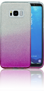 Samsung Galaxy S8 MM Glitter Hybrid (Two Tone) Purple