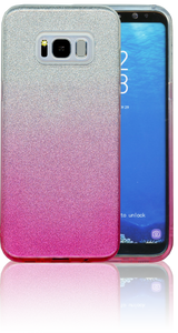 Samsung Galaxy S8 PLUS MM Glitter Hybrid (Two Tone) Pink