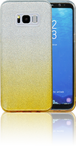 Samsung Galaxy S8 PLUS MM Glitter Hybrid (Two Tone) Gold