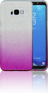 Samsung Galaxy S8 PLUS MM Glitter Hybrid (Two Tone) Purple