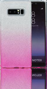 Samsung Galaxy Note 8 MM Glitter Hybrid (Two Tone) Pink