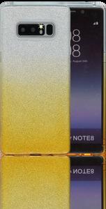 Samsung Galaxy Note 8 MM Glitter Hybrid (Two Tone) Gold