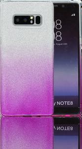 Samsung Galaxy Note 8 MM Glitter Hybrid (Two Tone) Purple