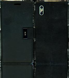 Iphone X/10/XS MM Premium Folio Wallet Black