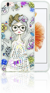 Iphone 6/6S MM Electroplated Bling Girl 1