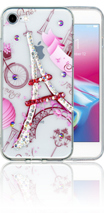 Iphone 7/8  MM Electroplated Bling Paris